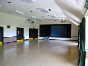 Peopleton Village Hall - Large Hall