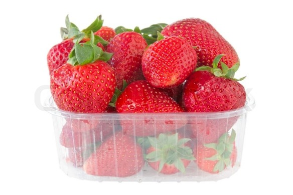 4027259-punnet-of-strawberries-isolated-on-white